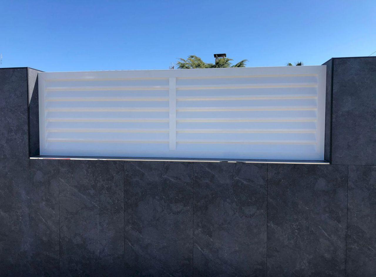 Jardin Valla Aluminio