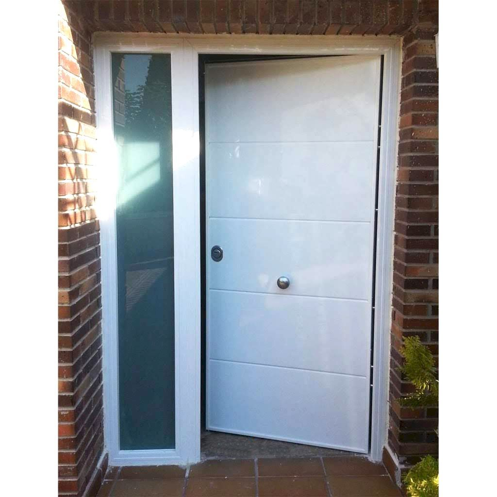 Puerta Blanca Aluminio