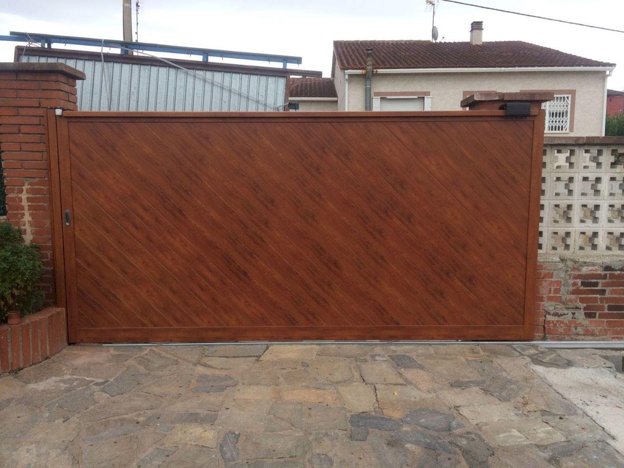 Puerta Jardin Aluminio